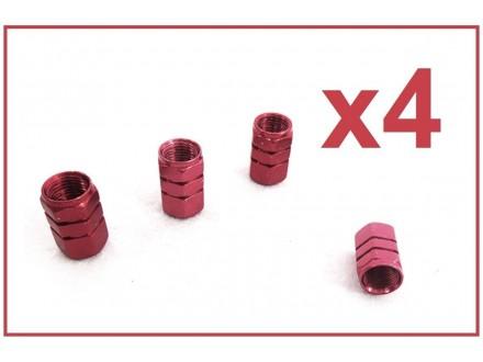 Kapice za ventile - 4 komada - BORDO