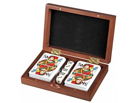 Karte za igranje sa kockicama - Romme