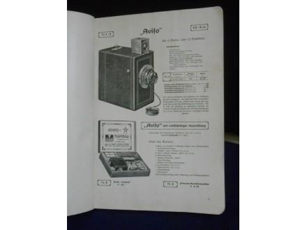 Katalog ICA Illustrierte Preisliste über photographisch