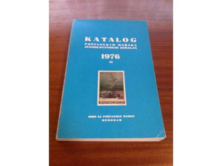 Katalog poštanskih maraka jugoslovenskih zemalja 1976