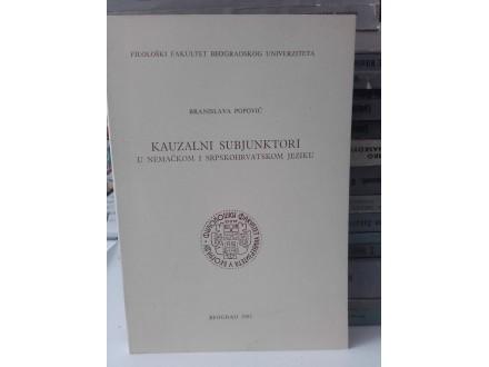 Kauzalni subjunktori - Branislava Popović