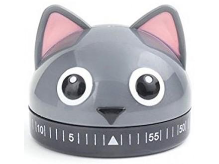 Kitchen Timer - Cat, 60 minuta - Kikkerland