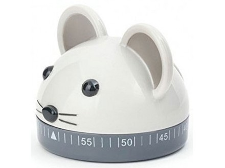 Kitchen Timer - Mouse, 60 minuta - Kikkerland