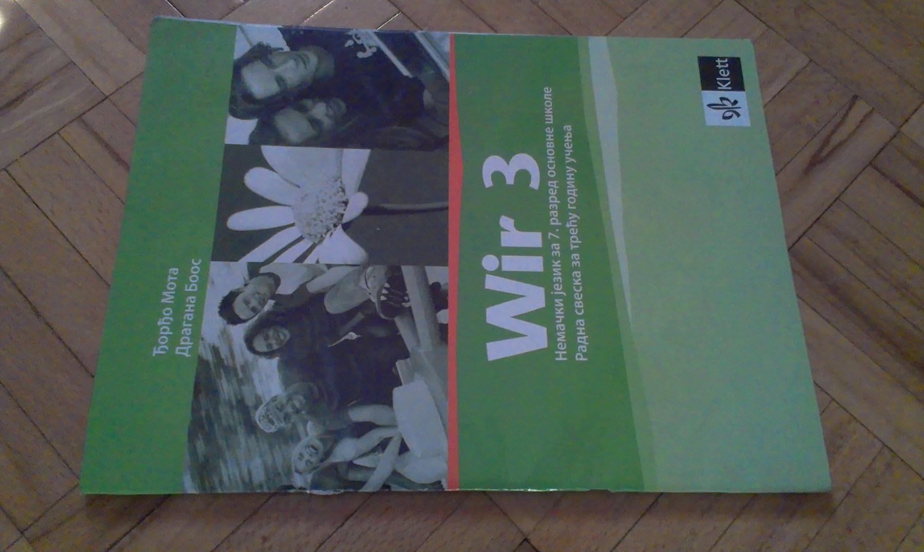 Klett Wir3 Nemački radna sveska za 7 razred