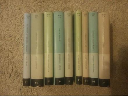 Knjige: 9 knjiga iz edicije večernje novosti