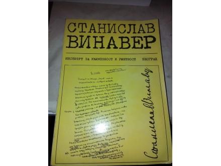 Književno delo Stanislava Vinavera - zbornik radova