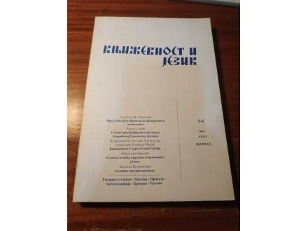 Književnost i jezik 3-4 2000 XLVII