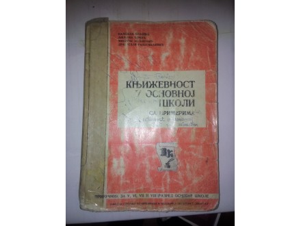 Književnost u osnovnoj školi sa primerima Vlašić Tomić