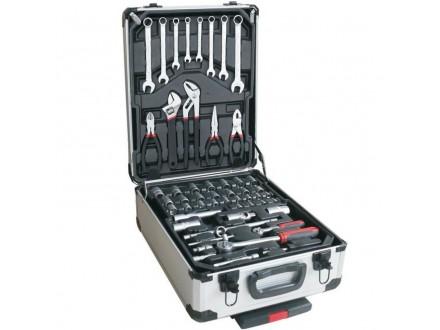 Komplet alata u ALU koferu 117kom. STREND PRO