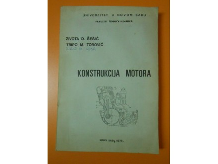 Konstrukcija motora, Života  Šešić