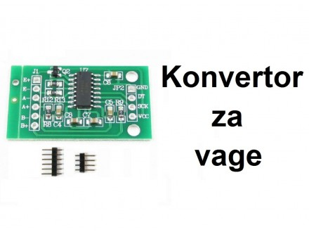 Konvertor za vage A/D sa HX711