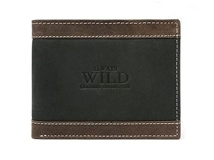 Kožni dvobojni muški novčanik