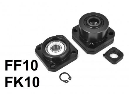 Krajnji lezajevi sa kucistem za CNC osovine FF10 i FK10
