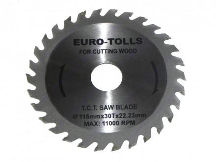 Kružna testera za drvo 115x30x22.23