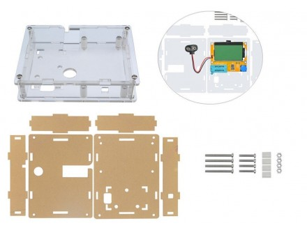 Kućište za LCD Transistor Tester, ESR LCR Metar