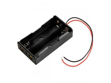 Kućište za dve litijumske baterije 18650