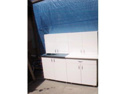 Kuhinja 1.6m u beloj boji nova