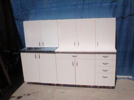 Kuhinja u beloj boji 2metra