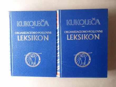 Kukoleča - ORGANIZACIONO-POSLOVNI LEKSIKON 1 - 2