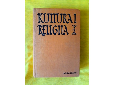 Kultura i Religija - Juzef Keler i Grupa Autora