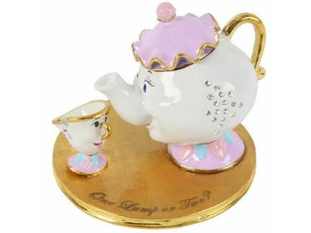 Kutija za nakit - Disney, Mrs Pot &; Chip - Disney
