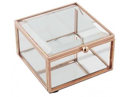 Kutija za nakit - Hestia, Rose Gold, S - Hestia