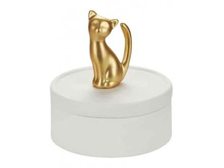 Kutija za nakit - Kitten, Golden - Balvi