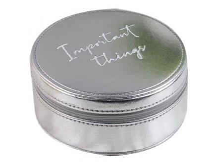 Kutija za nakit - Sophia, Silver, Important Things - Sophia