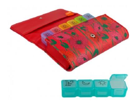 Kutija za pilule - Coquelicots - Mode et accessoires