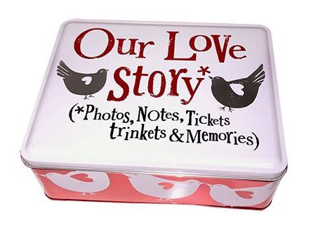 Kutija za sitnice - Our Love Story Tin - Brightside