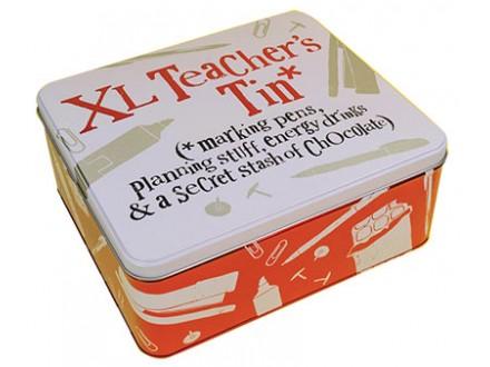 Kutija za sitnice - Teacher Tin, XL - Brightside