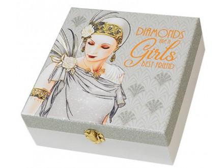 Kutija za uspomene - Charleston, Lady in Silver - Charleston