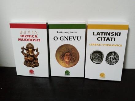 LATINSKI CITATI, O GNEVU, INDIJA RIZNICA MUDROSTI-3 knj