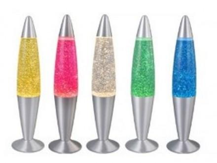 LAVA LAMPA SA ŠLJOKICAMA 42cm- više boja