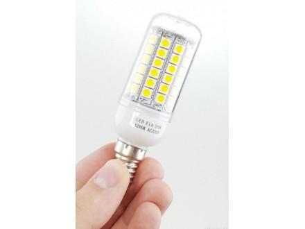 LED E14 sijalica 69 dioda - 6500K - NOVO