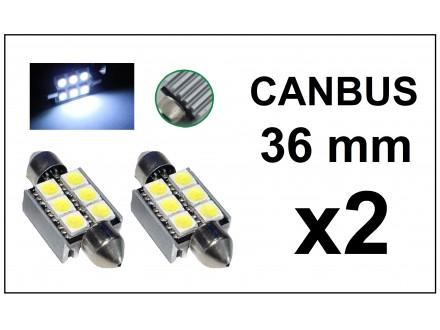 LED Sijalica - 36 mm - CANBUS 6 SMD - 2 komada