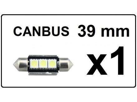LED Sijalica - 39 mm - CANBUS 3 SMD - 1 komad