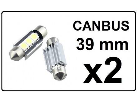 LED Sijalica - 39 mm - CANBUS 3 SMD - 2 komada