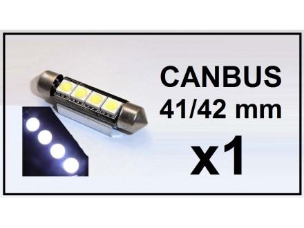 LED Sijalica - 42 mm - CANBUS 4 SMD - 1 komad