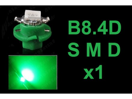LED Sijalica - B8.4D za instrument tablu - 1 komad