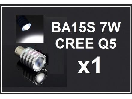 LED Sijalica - BA15S CREE 7W Q5 - BELA - 1 komad