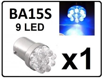 LED Sijalica - BA15S - PLAVA - 1 komad