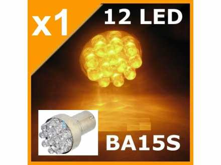 LED Sijalica - BA15S - ZUTA - 1 komad