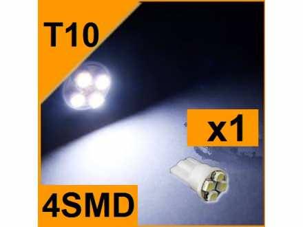 LED Sijalica - T10 pozicija - 4 SMD - 1 komad