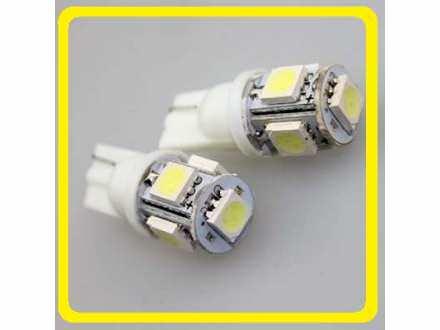 LED Sijalica - T10 pozicija - 5 SMD - 1 komad