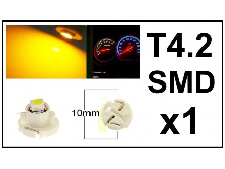 LED Sijalica - T4.2 za instrument tablu - 1 komad