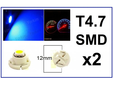 LED Sijalica - T4.7 za instrument tablu - 2 komada