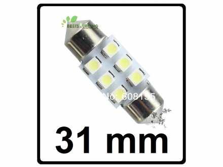 LED Sijalica - za unutrasnjost - 31 mm - 6 SMD - 1 kom