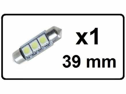LED Sijalica - za unutrasnjost - 39 mm - 3 SMD - 1 kom