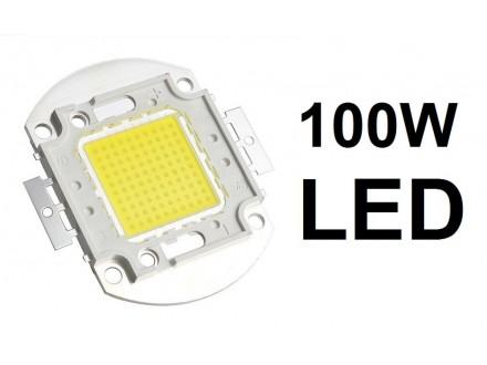 LED dioda 100W menja 1000W - 9000Lm